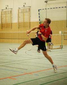Moritz in Aktion